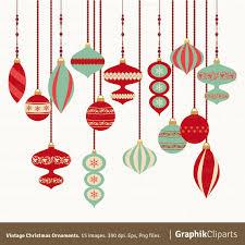 vintage ornaments clipart clipart