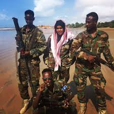 inspiring meet iman the somali woman soldier who leads troops