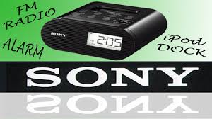 sony fm clock radio alarm icf co5ip review youtube