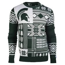 raiders light up christmas sweater michigan state spartans ugly christmas sweater