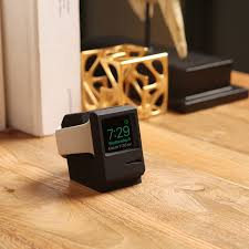 A 2 15 Alarm 2 by W3 Stand For Apple Watch 1 2 U0026 3 Supports Nightstand Mode