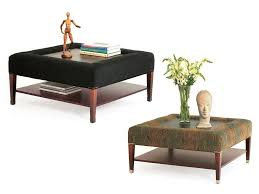 traditional coffee table fabric ebony square soho by eric