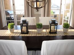 Dining Room Table Arrangements Dining Room Modern Table Decor Decorating Ideas For Decorations