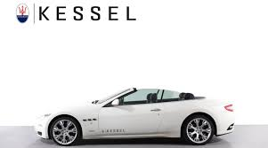 maserati 2017 white maserati grancabrio advanced car search