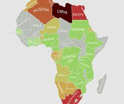 Gambia Africa Map by New Map Reveals The World U0027s Most Toxic Countries Toxic Countries