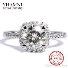 diamond rings sale images 2018 yhamni 90 off big sale classic original silver engagement jpg