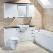Bathroom Furniture White Fitted Bathroom Furniture Storage Vanity Units Cabinets