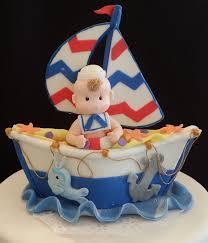 nautical party decoration nautical baby shower cake nautical