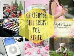 christmas gift ideas for sister christmas celebrations