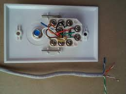 commercial electric network and coax wall plate 217f 8c wh the
