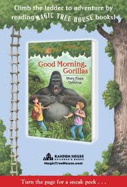Magic Treehouse - good morning gorillas magic tree house book review and ratings