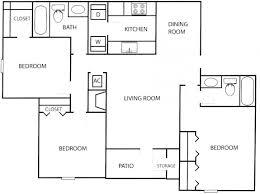 Camp Floor Plans 2 Bedroom Apartments In Atlanta Under 700 Second Chance Decatur Ga