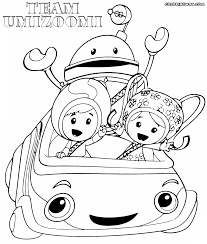 team umizoomi coloring pages snapsite