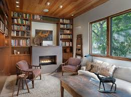 bibliothek wohnzimmer 47 einrichtungsdeen für hausbibliothek und bücherregalwand