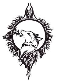 celtic wolf design free wolf design by of