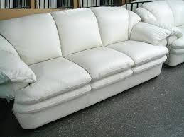 Sofa Leather Sale Decorating White Sofa Grey And White Leather Sofa White