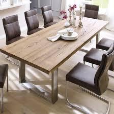 Esszimmertisch Naturkante Wildeiche Tisch Haus Ideen
