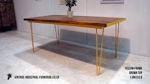 vintage hairpin table legs vintage industrial desk hairpin legs lentine marine 46028