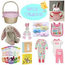 easter baskets for babies simple suburbia baby s easter basket ideas