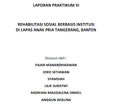 format laporan praktikum laporan praktikum rehsos dan kia 2012