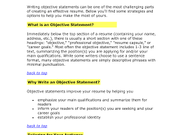 strikingly inpiration resume objective example 14 general career