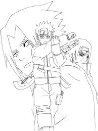 999 coloring pages naruto coloring pages cartoon coloring pages pinterest