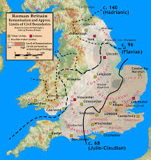 Great Britain On World Map by Romanisation Of Britain Ancient Civilizations Pinterest