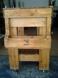 Pallet Kitchen Island Diy Pallet Kitchen Island Table 99 Pallets