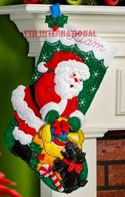 100 seasonal home decorations bucilla seasonal felt bucilla felt applique christmas stocking kit ho ho ho santa