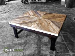 repurposed table top ideas repurposed pallet wood coffee table with a double chevron design raw