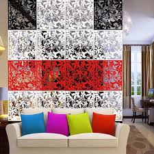 buy magideal 4x butterfly flower hanging screen curtain room
