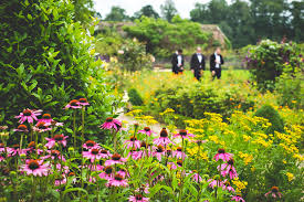 sussex wedding photography the walled gardens at cowdray