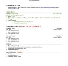 College Graduate Resume Example by Build Your Resume Best Resume Template For High Student