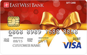 bank gift cards purchase an east west gift card at your nearest bank branch east