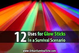 glow sticks uses for glow sticks in a survival scenario