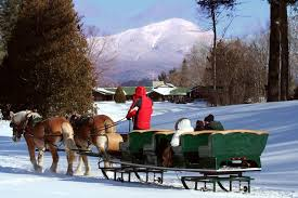 lake placid sleigh rides lake placid ny