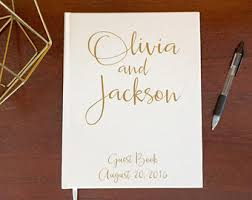 modern wedding guest book formal wedding guest book modern simple guestbooks affordable