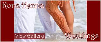 weddings kona henna