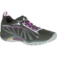 women s hiking shoes merrell women s siren edge hiking shoes black purple