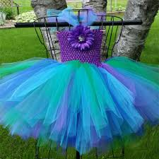 peacock turquoise peacock girl tutu dress inspired pageant dresses for