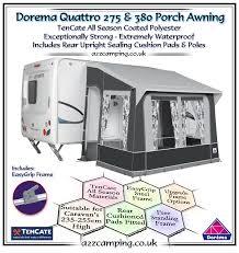 Starcamp Porch Awning 2018 Dorema Quattro Caravan Porch Awning