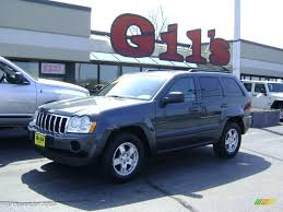 blue jeep grand cherokee 2007 steel blue metallic jeep grand cherokee laredo 4x4 8113078