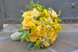 theme wedding bouquets yellow theme wedding flowers ideal weddings