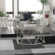 table sets for living room coffee table sets you ll love wayfair