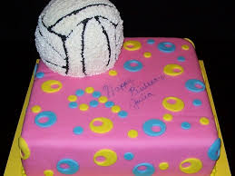 volleyball birthday cakecentral com