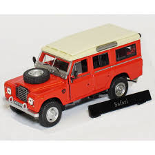 land rover italeri cararama 1 43 crland3red land rover series 3 109 red safari