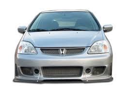 si es auto b free shipping on duraflex 02 05 honda civic si hb b 2 front bumper