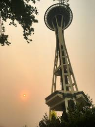 Wildfire Smoke Seattle by Ash Falls Across Seattle Area From Fires Burning In Central