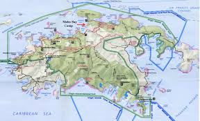 map of vi map of st vi 8 maps update 1214746 usvi us in world maps