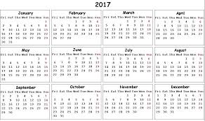 2017 us calendar printable 2017 calendar with holidays printable calendar with holidays 2017